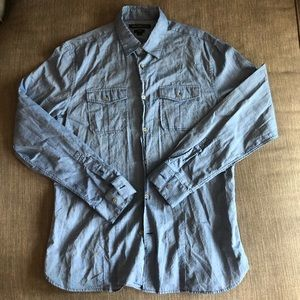 John Varvatos USA Luxe Button Down
